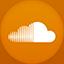 Soundscloud flat circle icon