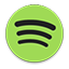 Spotify colorful Icon