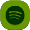 Spotify Flat Round