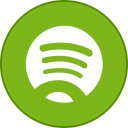 Spotify Round With Border-128