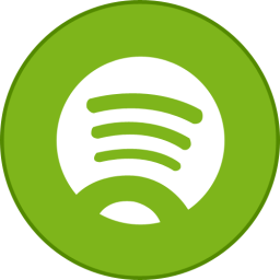 Spotify Round With Border