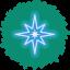 Star Wreath Icon