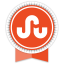 Stumbleupon Round Ribbon icon