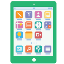 Tablet Flat Icon Download Flat Eps Icons Iconspedia