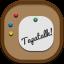 Tapatalk Flat Round Icon