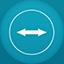 Teamviewer flat circle Icon