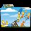 The Simpsons Folder 10 icon