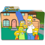 The Simpsons Folder 19 Icon