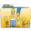 The Simpsons Folder 20 Icon