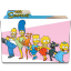 The Simpsons Folder 25 Icon