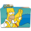 The Simpsons Folder 5 Icon