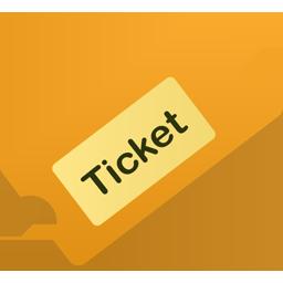 Billedresultat for icon ticket