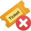 Ticket Remove Icon
