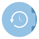 Timemachine Folder Circle-128