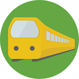 Train Icon Download Flat Round Icons Iconspedia