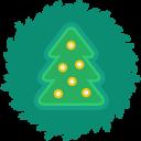Tree Wreath-128