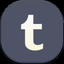 Tumblr Flat Round