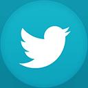 Twitter flat circle-128