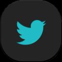 Twitter Flat Round