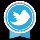 Twitter Round Ribbon-128