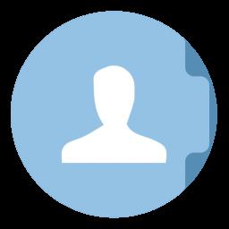 Users Folder Circle