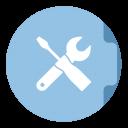 Utilities Folder Circle-128