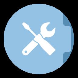Utilities Folder Circle