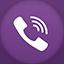 Viber flat circle Icon