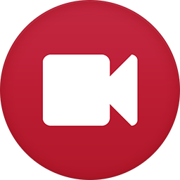 Video Camera flat circle