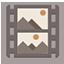 Videos flat brown