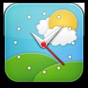 Weather Clock Simple