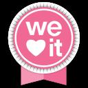 We Heart It Round Ribbon-128