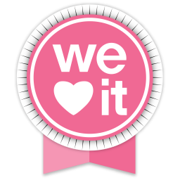 We Heart It Round Ribbon