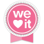 We Heart It Round Ribbon Icon