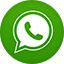 Whatsapp flat circle icon