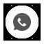 Whatsapp white round Icon