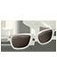 White Glasses Icon