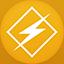 Winamp flat circle icon