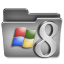 Windows 8 Steel Folder icon