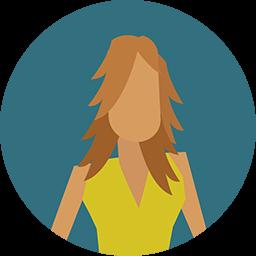 Woman Icon Download Flat Round Icons Iconspedia