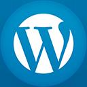 Wordpress flat circle-128