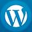 Wordpress flat circle-48