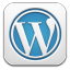 Wordpress White icon