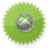 Xbox green logo icon