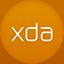Xda flat circle icon