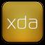 Xda White icon