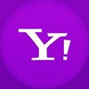 Yahoo flat circle-128