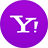 Yahoo flat circle-48