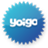Yoigo blue logo Icon