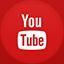 Youtube flat circle icon